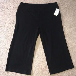 Plus Size Athletic Capri Pants DryFit NEW!